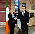 FM Urmas Paet met with Irelands Minister of State for European Affairs Lucinda Creighton in Tallinn (31st October 2012) (8141513422).jpg