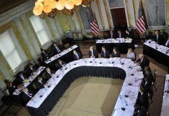 Financial Stability Oversight Council - Image: FSOC Meeting