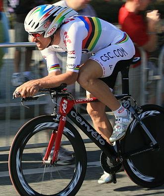 Fabian Cancellara - Cancellara at the 2008 Tour of California, where he won the prologue stage.