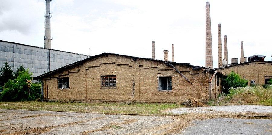 Fabrika stakla (Staklara) u Pančevu, zgrada