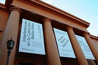 Museo Nacional de Bellas Artes (Buenos Aires) - Image: Fachada del Museo Nacional de Bellas Artes (Argentina)
