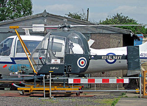 Fairey Ultra-light Helicopter - The preserved sixth Fairey Ultra-light Helicopter, on static display at the Midland Air Museum in 2015.