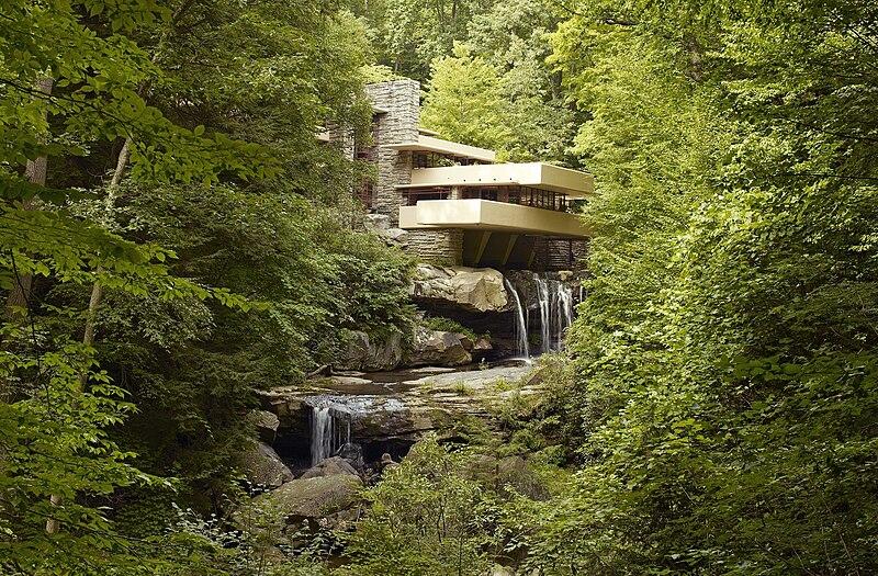 Fallingwater, Frank Lloyd Wright, Falling water, Pittsburgh