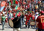 Fans of the Portuguese national football team in Cologne 1.jpg
