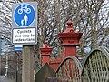 Fantastic gateposts at Cooper Bridge - geograph.org.uk - 738003.jpg