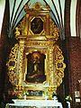 Fara w Grudziądzu,barokowy ołtarz boczny.JPG