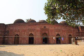 Faridpur District - Pathrail Shahi Mosque in Bhanga Upazila