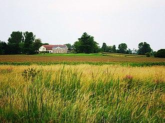 Athens, Ontario - Image: Farm near Athens panoramio