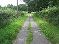 Farm road to Pinstraw Farm - geograph.org.uk - 1412147.jpg