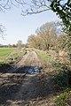 Farm track and public footpath - geograph.org.uk - 1756355.jpg