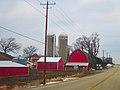 Farm with Two Silos - panoramio (42).jpg