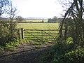 Farmland with farm gate, Girton, Cambs - geograph.org.uk - 90051.jpg