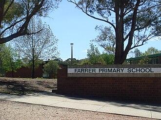 Farrer, Australian Capital Territory - Farrer Primary School