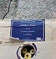 Fausse plaque de rue - Montée de la Grande Côte (Lyon) - souvenir trans - Candace Towns.JPG