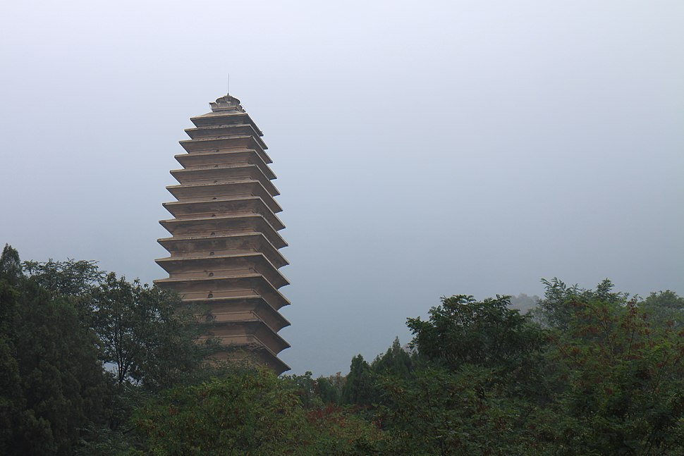 Fawang Temple Pagoda Dengfeng