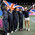 Fed Cup Group I 2012 Europe Africa day 4 Great Britain Fed Cup Team 003.JPG