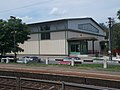 Felsőgöd train stop and Sports Hall, 2020 Göd.jpg