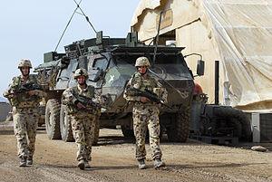 Female Australian soldiers Afghanistan