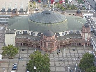 Festhalle Frankfurt - Image: Festhalle Frankfurt 2016
