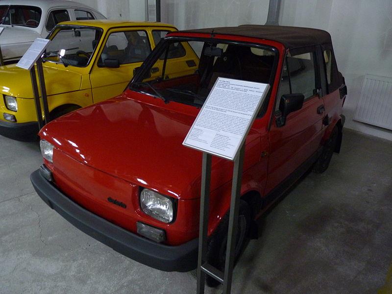 file fiat 126 cabrio at muzeum in ynierii miejskiej in krak w 1 jpg wikimedia commons. Black Bedroom Furniture Sets. Home Design Ideas