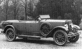 Fiat 519 - Fiat 519 B Torpedo 1925