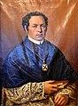 Fidel Ferdinand Domeisen, Pfarrer, 1751, Öl auf Leinwand, Joh. Joseph Anton Hunger (1683-1761) - Stadtmuseum Rapperswil 2015-11-07 15-53-32.JPG