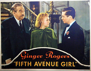 5th Ave Girl - Image: Fifth Avenue Girl 1939