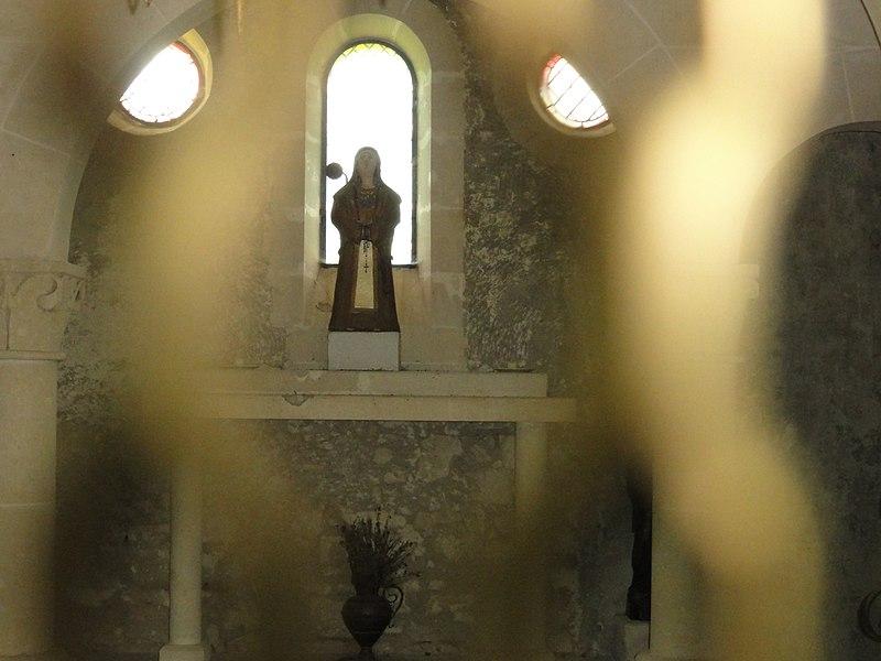 Filain (Aisne) chapelle Berthe, intérieur