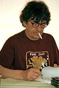 File-Portrait de l'écrivain Jean-Bernard Pouy lors du Festival International du Roman Noir de Frontignan (France).jpg