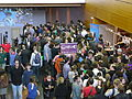 File d'attente pour l'Auditorium 800 - Utopiales 2014 - P1960488.jpg