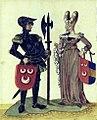 Filips III van Wassenaer (1307-1345), Alverardis Bertha van Cuijk.jpg