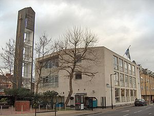 Rotherhithe - The Finnish Church, Albion Street