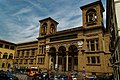 Firenze - Florence - Lungarno della Zecca Vecchia - View NW on Biblioteca Nazionale Centrale di Firenze 1935 by Cesare Bazzaniu and V. Mazzei.jpg