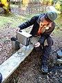 First Burn -Titanium Goat WiFi Stove (13521564265).jpg