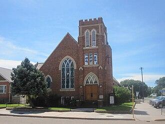 Fowler, Colorado - Image: First Methodist Church, Fowler, CO IMG 5640