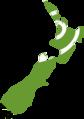 Flag map of New Zealand (Koru Flag).png