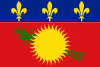 Flag of Guadeloupe (local) variant.svg