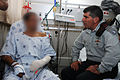 Flickr - Israel Defense Forces - Lt. Gen. Gabi Ashkenazi Visits Soldier.jpg