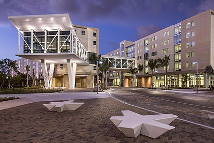 Parkview Hall, the home of honors students since 2013 Florida International University Parkview Housing.jpg