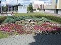 Flower clock, 2020 Százhalombatta.jpg