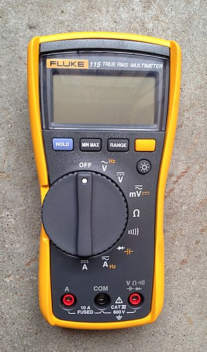 Fluke Corporation - Image: Fluke 115 multimeter