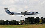Flybe - G-JECX British European Bombardier DHC-8-402 Q400 (21978389128).jpg