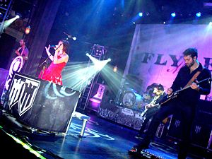 "Flyleaf (band) - Flyleaf on their ""Unite and Fight"" tour at The Regency Ballroom in San Francisco, CA on October 18, 2010."