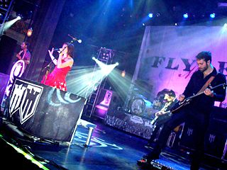 Flyleaf (band) American heavy metal band
