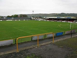 Cheriton Road football stadium in Folkestone