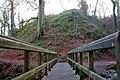 Footbridge, Glenoe glen (4) - geograph.org.uk - 635288.jpg