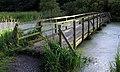 Footbridge, Portavo Reservoir - geograph.org.uk - 1407507.jpg
