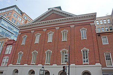Ford's Theatre exterior, Washington, D.C. 2011 2.jpg