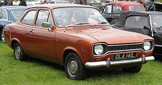 Ford Escort (Europe) - 1972 Ford Escort 1100 L Mark I 2 door saloon