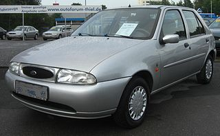 Ford Fiesta (fourth generation) Motor vehicle